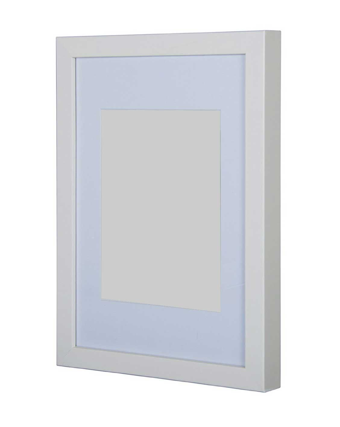 Gallery Wooden Picture Frame White A1 with A2 mount